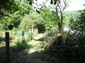 Elkezdtük a temető kerítésének a kijavítását